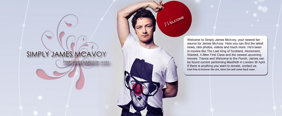 Simply James McAvoy 2013